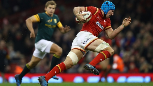 Justin Tipuric wants a big performance from Wales