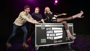 Eoghan McDermott, Gavin James and Bláthnaid Treacy at the announcement of RTÉ's new involvement with the Choice Music Prize