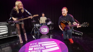 Blathnaid Treacy, Eoghan McDermott and Gavin James rock out in honour of this year's RTÉ Choice Music Prize