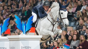 Bertram Allen and Molly Malone in action in Stockholm