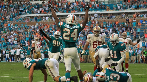 The Miami Dolphins will play in London next year