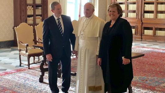 Taoiseach Meets Pope Francis