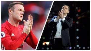 Wayne Rooney got one of Robbie Williams Brit Awards in a moment of foggy generosity