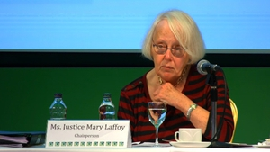 Retired judge Mary Laffoy said she was satisfied the incident had no impact on the Assembly's work