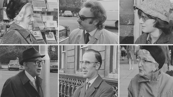 Vox Pops on VAT in Dublin (1971)