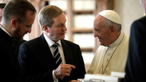 Enda Kenny travelled to Rome to meet Pope Francis
