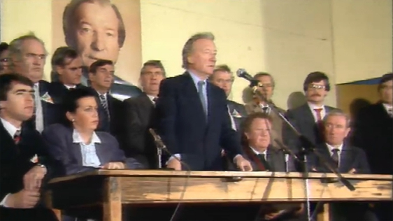 Charles Haughey on the Aran Islands (1986)