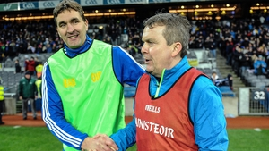 Maurice Fitzgerald (left) will join the Kerry backroom staff as a selector