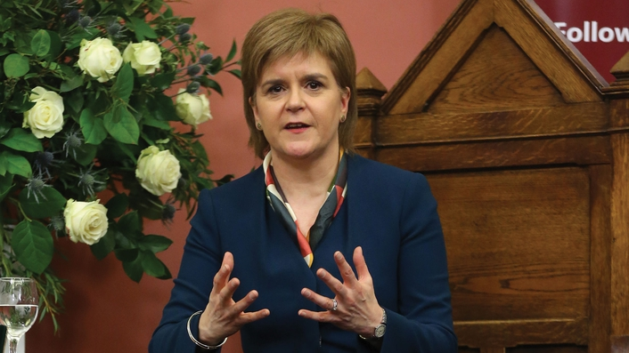 Sturgeon: UK government doesn't appear to have a  clear negotiating strategy