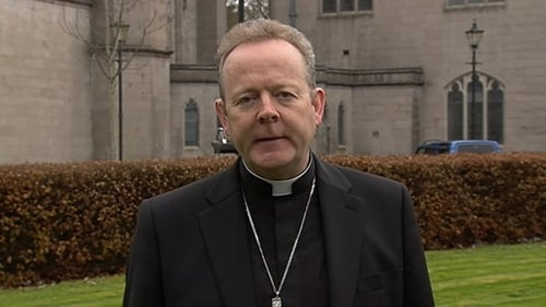 """Archbishop Eamon Martin urged Catholics to resist what he called """"strong pressures to remain silent"""""""