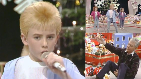 Tommy Scott on The Late Late Toy Show (1986)
