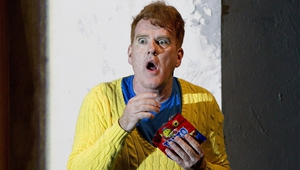 Mikel Murfi in Enda Walsh's Ballyturk, a highlight of The Abbey Theatre's newly announced 2017 programme