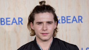Brooklyn Beckham injured himself on the slopes