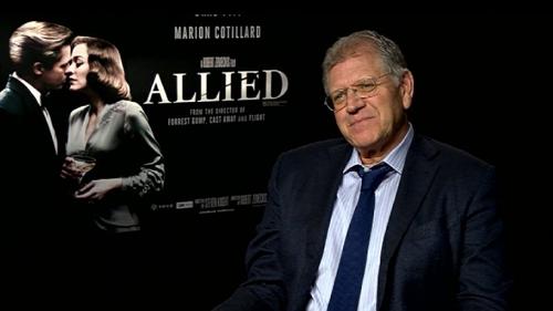 "Zemeckis: ""Allied is an original idea."""