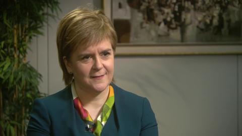 Prime Time Extras: Scottish First Minister Nicola Sturgeon