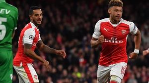 Theo Walcott and Alex Oxlade-Chamberlain may be rested against their former side tonight