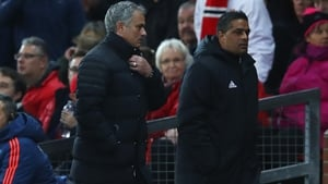 Mourinho will look on from the stands