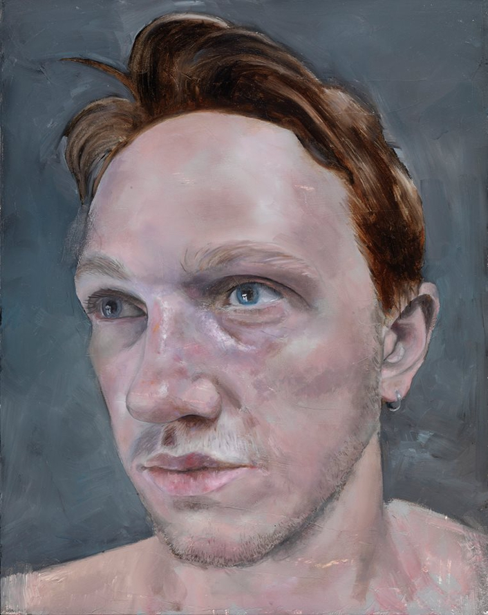 Winner of the Hennessy Portrait Prize 2016