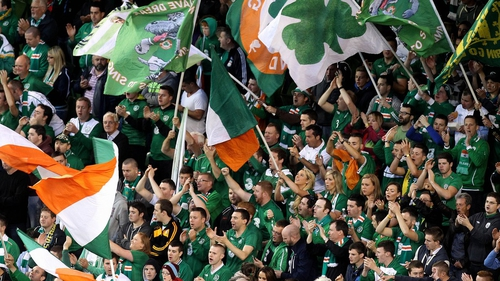 Irish fans are likely to flock to Cardiff in their thousands