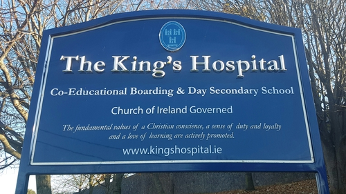 The garda investigation follows a claim that a teenage boy was sexually assaulted at The King's Hospital school in Palmerstown