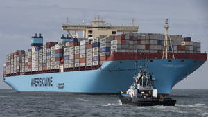 Moller-Maersk is the world's biggest container shipping company