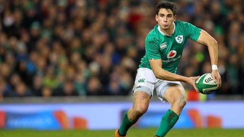 Joey Carbery out of Ireland's two Tests in Japan with ankle injury