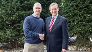Enda Kenny's meeting with Tim Cook was one of the key elements of the Silicon Valley leg of his trip