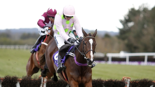 Vroum Vroum Mag winning the Champion Hurdle at Punchestown