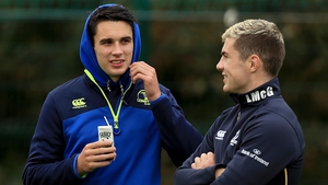 Joey Carbery and Luke McGrath