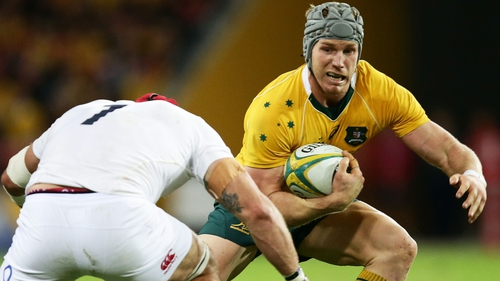 Poccok is taking a year out from Test rugby following the game against England in Twickenham