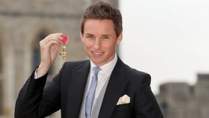 Eddie Redmayne, now with added OBE