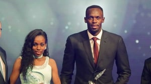 Almaz Ayana and Usain Bolt