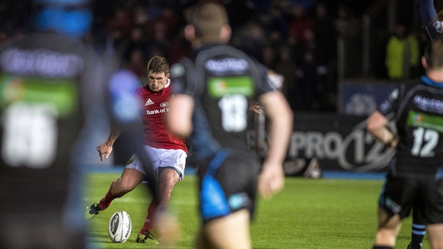 Ian Keatley lands a late drop-goal to hand Munster victory over Glasgow