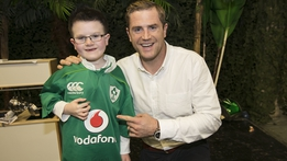 The Late Late Toy Show: Jamie Heaslip surprises Evan