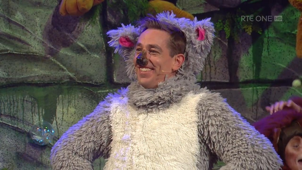 Ryan Tubridy completely failing to get into the spirit of things on the Toy Show