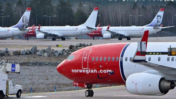 Norwegian Air has been forced to ground all but six of its 138 aircraft due to the coronavirus crisis