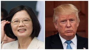 Donald Trump spoke by phone with President Tsai Ing-wen of Taiwan