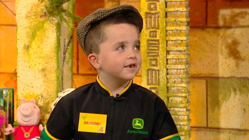 The Late Late Toy Show: Darragh Malone