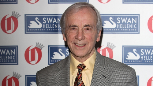 Andrew Sachs - Passed away last week after a four-year battle with vascular dementia