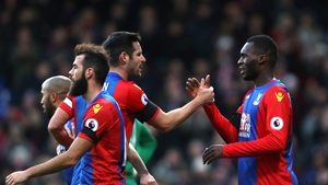 Christian Benteke struck on the double for Palace