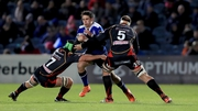 Joey Carbery's try ensured Leinster got the bonus point