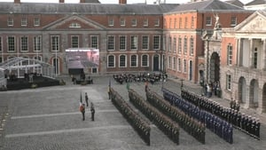 The presentations are being made to select representatives at Dublin Castle by President Michael D Higgins