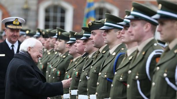 President Higgins at Dublin Castle