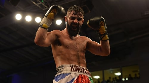Jono Carroll will be looking for a win that will maintain his current high profile at super-featherweight