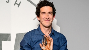 Robbie Ryan with his award