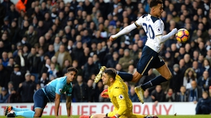 Dele Alli won a dubious penalty against Swansea on Saturday