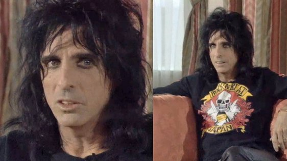 Alice Cooper Glam Rocker