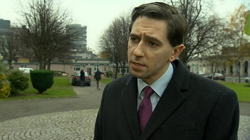 Simon Harris was speaking at a three-day recruitment drivein Dublin