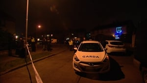 Gardaí have sealed off the area as a crime scene