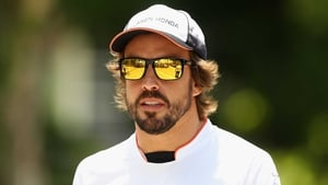 Fernando Alonso has a year to go in his McLaren contract